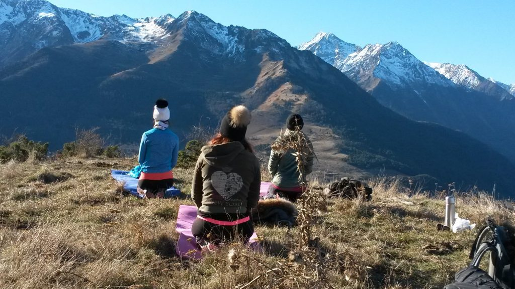 meditation plein air